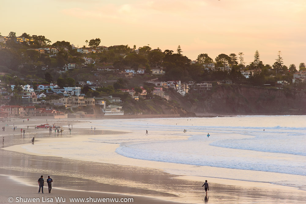 Evening at La Jolla Shores