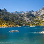 Blue Water of Lake Sabrina, Bishop, California, September 2016.