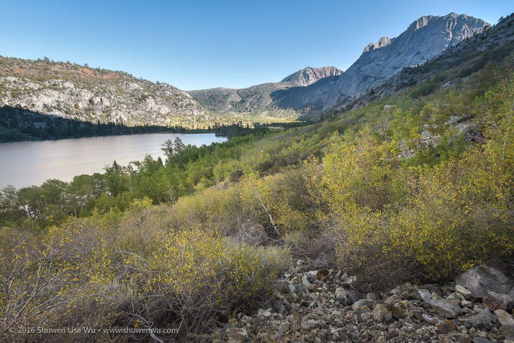 Above Silver Lake along the Rush Creek Trail, June Lake, California, September 2016.