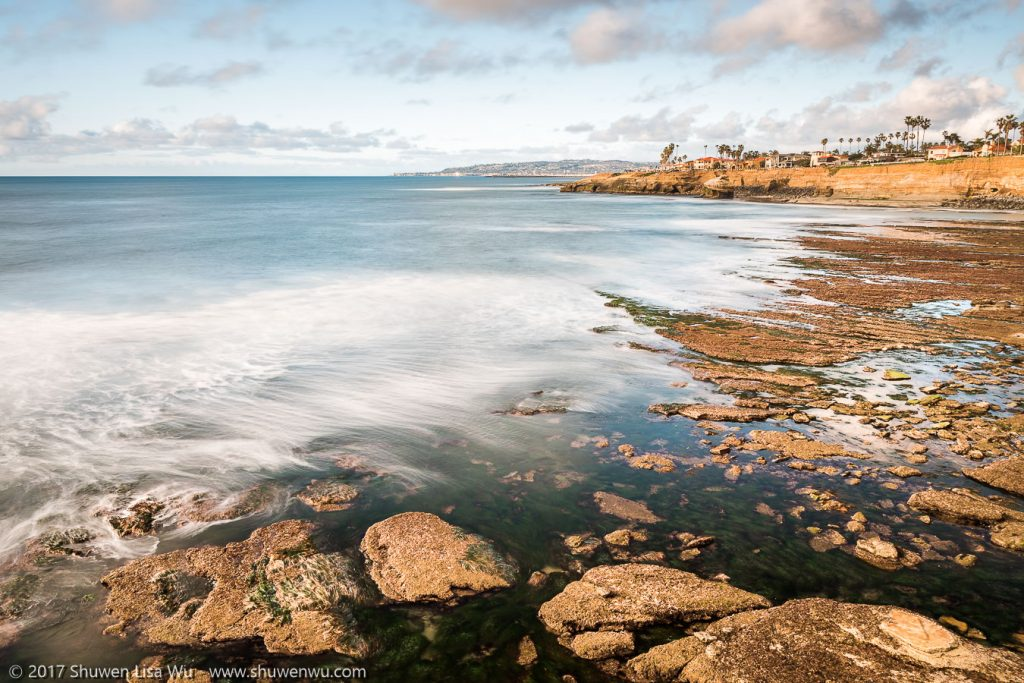 Low Tide at Sunset Cliffs, San Diego, California. February 2017.
